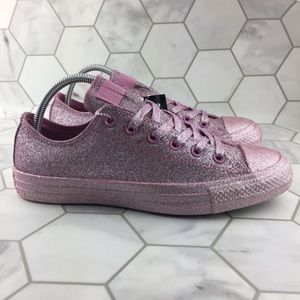 Converse Chuck Taylor Pink Glitter Sneakers